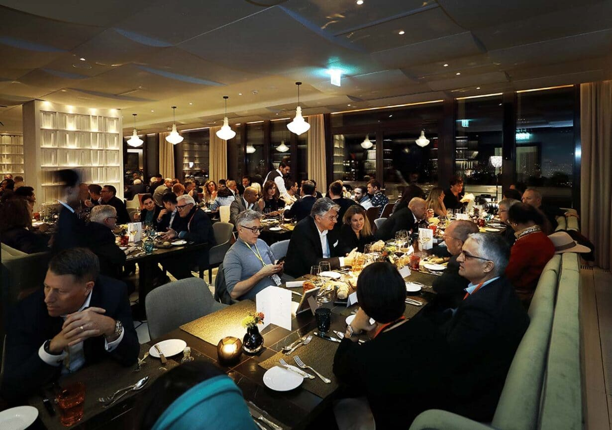 Worldwebforum speakers dinner