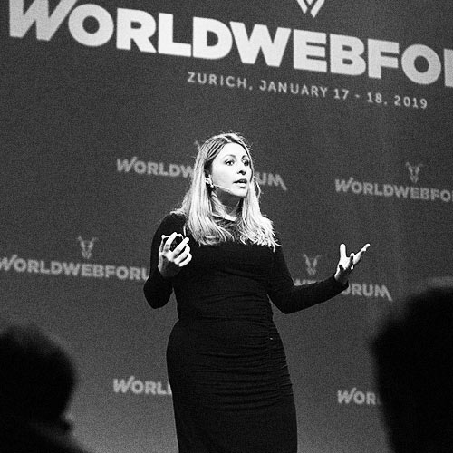 Worldwebforum speaker Meia Chita-Tegmark