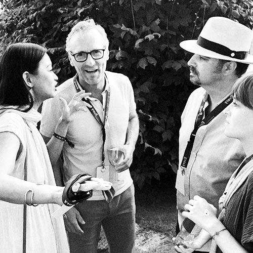 Quyen Truong, Kurt Ris, Fawad Kazi at Zurich Street Parade 2019