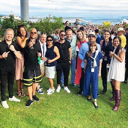 The Trnsfrmrs club at Zurich Street Parade 2019 at Baur au Lac