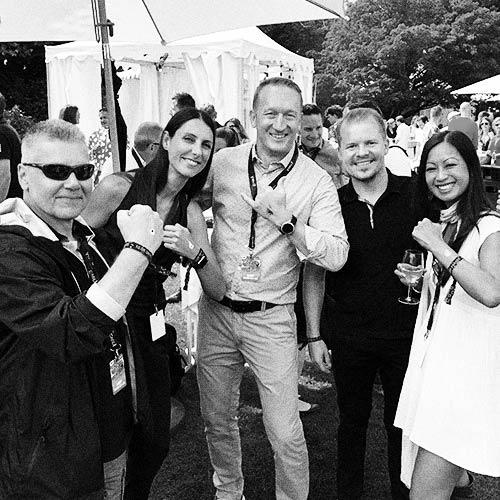 Daniel Krieg, Andy Tonazzi, Philipp Salas, Quyen Truong at Zurich Street Parade 2019