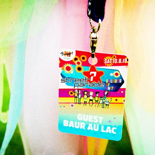 Access at Zurich Street Parade 2019