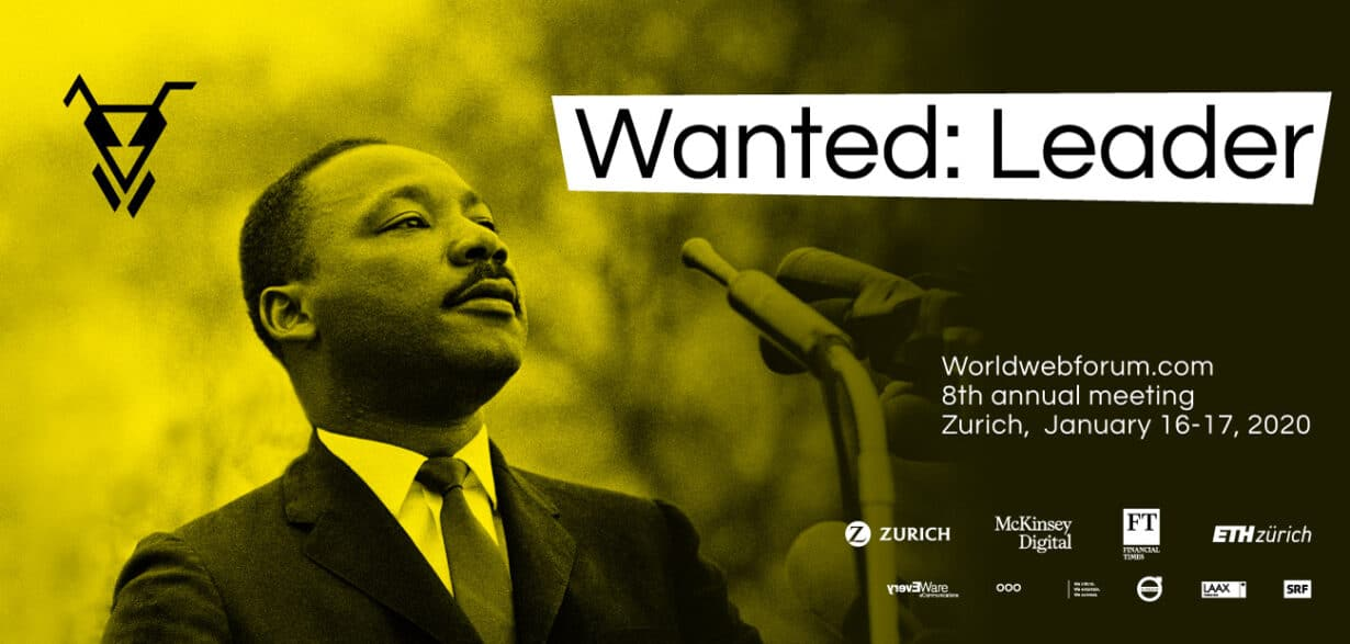 Worldwebforum 2020 Topic Wanted: Leader, Martin Luther King Junior