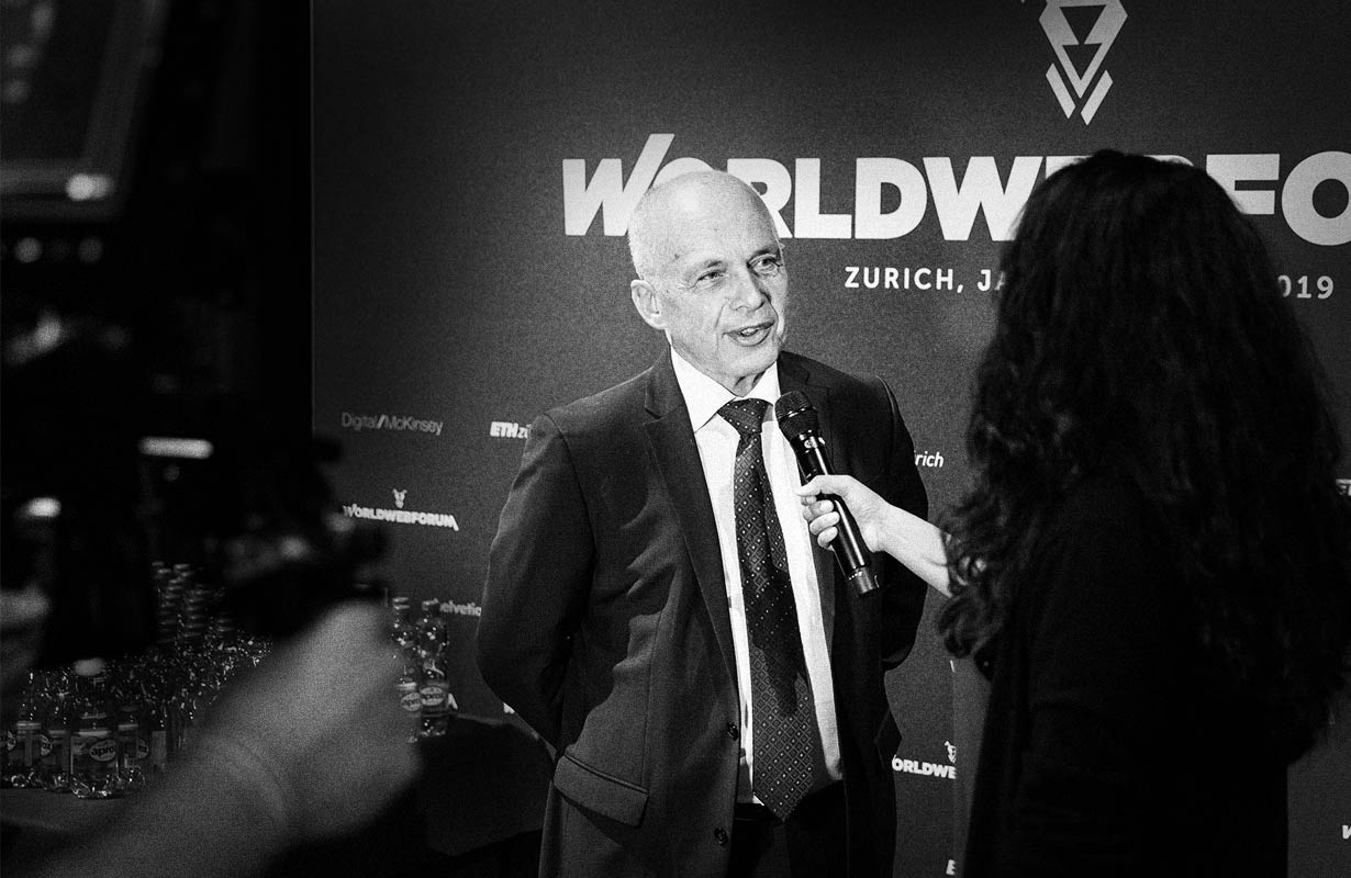 Worldwebforum Ueli Maurer interview