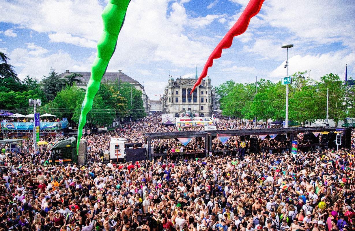 Zurich Street Parade 2019