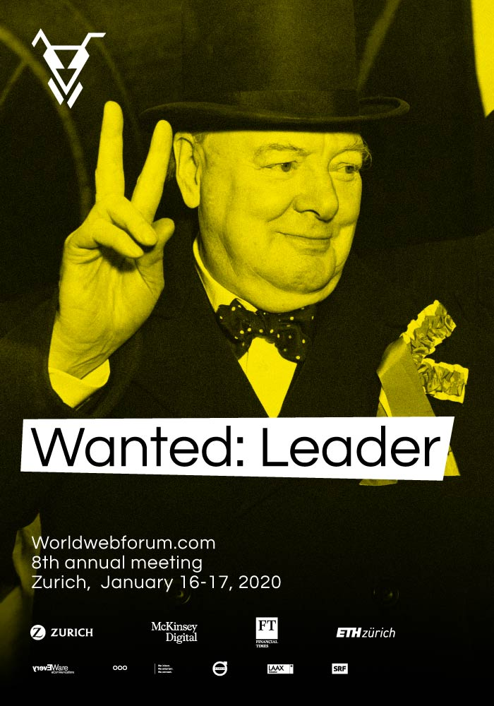 Worldwebforum 2020 Topic Wanted: Leader, Winston Churchill