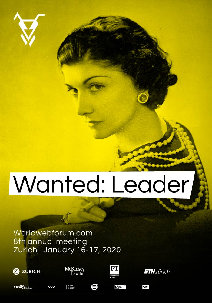 Worldwebforum 2020 Topic Wanted: Leader ad feat. Coco Chanel